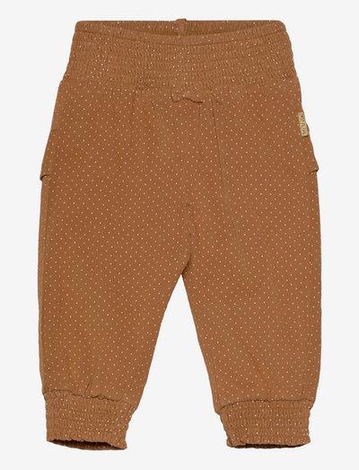 Trine - Trousers - joggingbroek - cinnamon