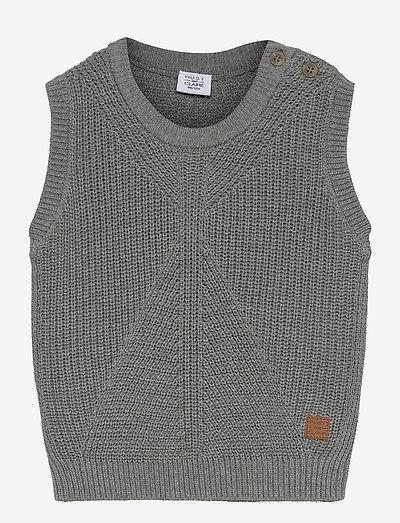 Eigil - Slipover - bodywarmers - light grey melange