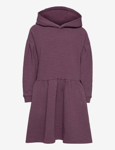 Kerry - Dress - kleider - plum wine