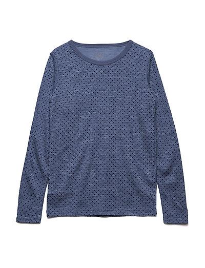 Abba - Nightwear - BLUE FOG MELANGE