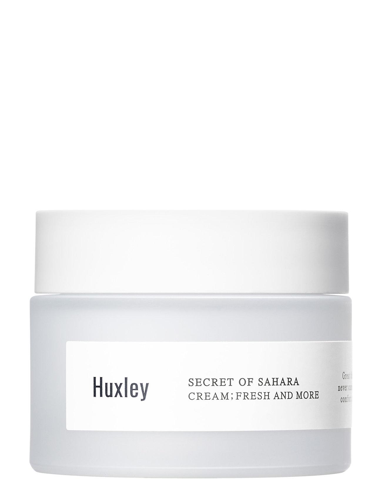 Image of Huxley Cream: Fresh And More Fugtighedscreme Ansigtscreme Hudpleje Nude Huxley (3347376881)