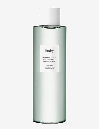 Huxley Cleansing Water; Be Clean, Be Moist 200ml - sminkefjerner - no colour