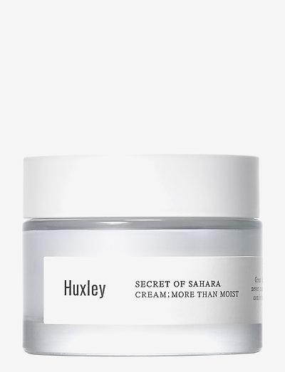 Huxley Cream; More Than Moist 50ml - NO COLOUR