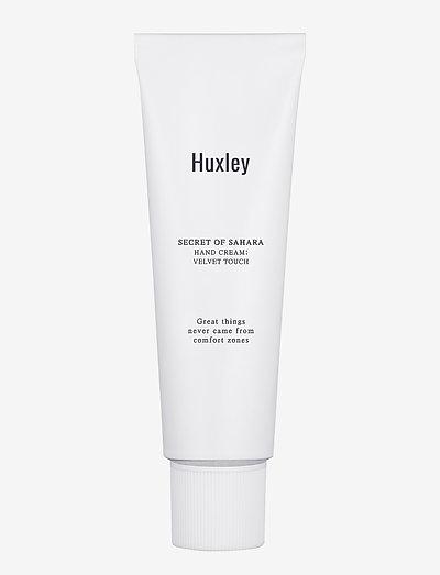 Huxley Hand Cream; Velvet Touch 30ml - käsivoide - clear