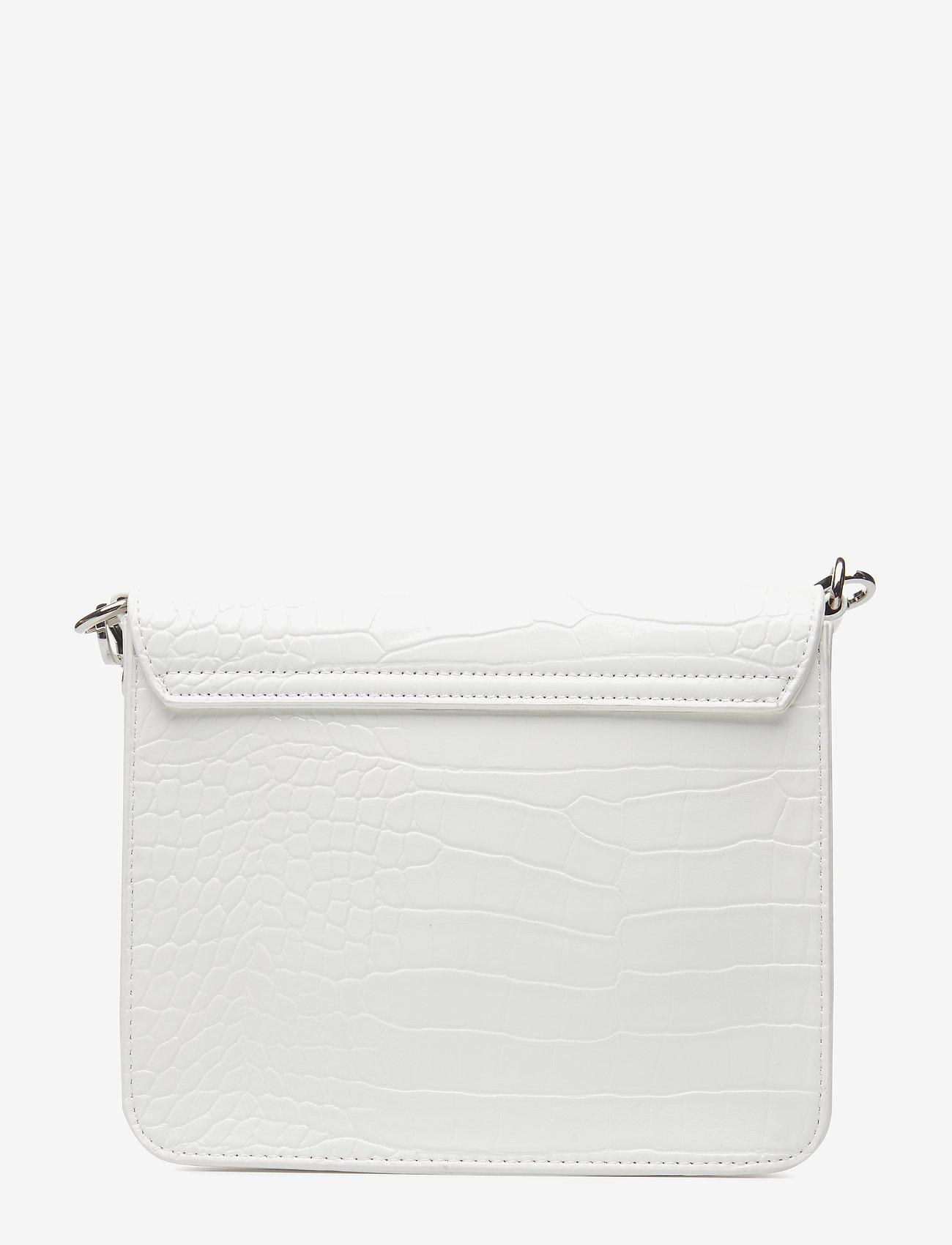 Hvisk - CAYMAN SHINY STRAP BAG - skuldertasker - white