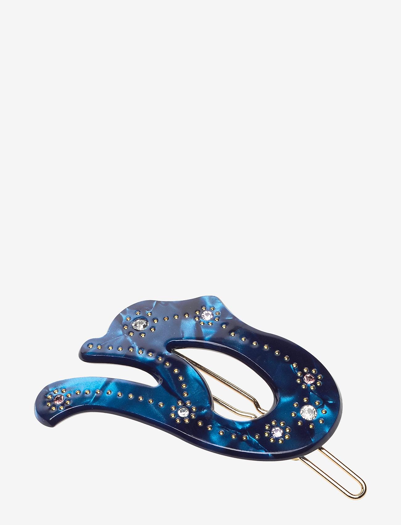 Hvisk - PETAL - hair accessories - blue - 0