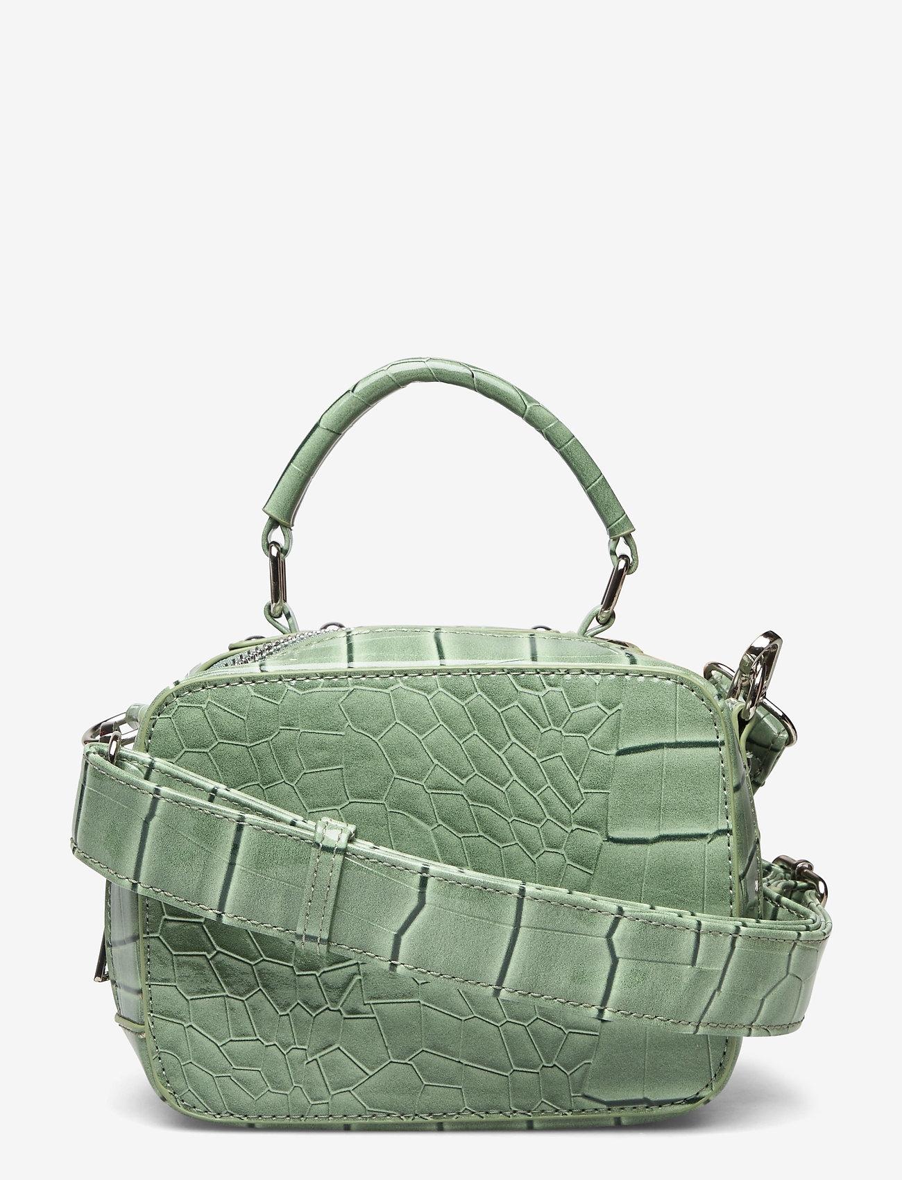 HVISK - BLAZE CROCO - handväskor - dusty green - 0