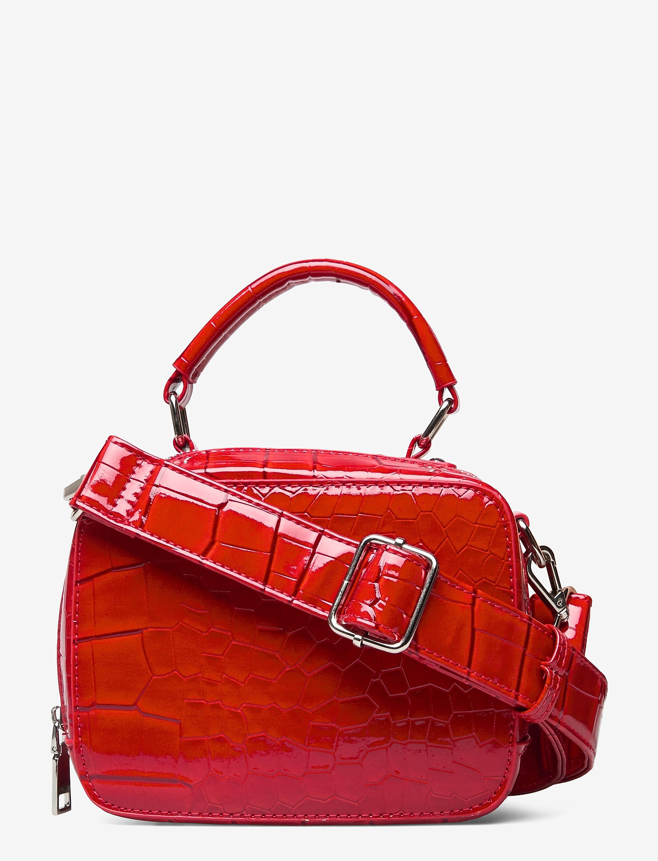 HVISK - BLAZE CROCO - handväskor - red - 0
