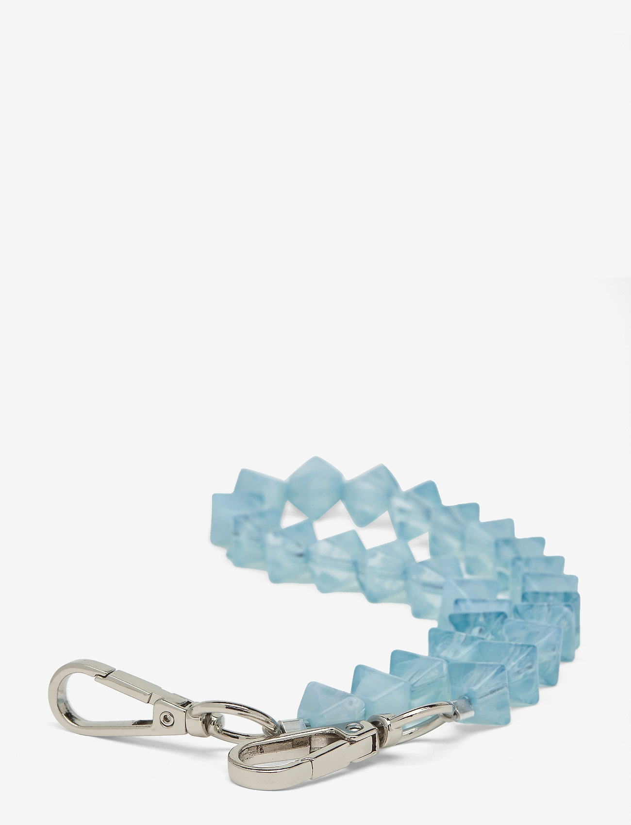 HVISK - CRYSTAL CHAIN HANDLE - laukun hihnat - baby blue - 0
