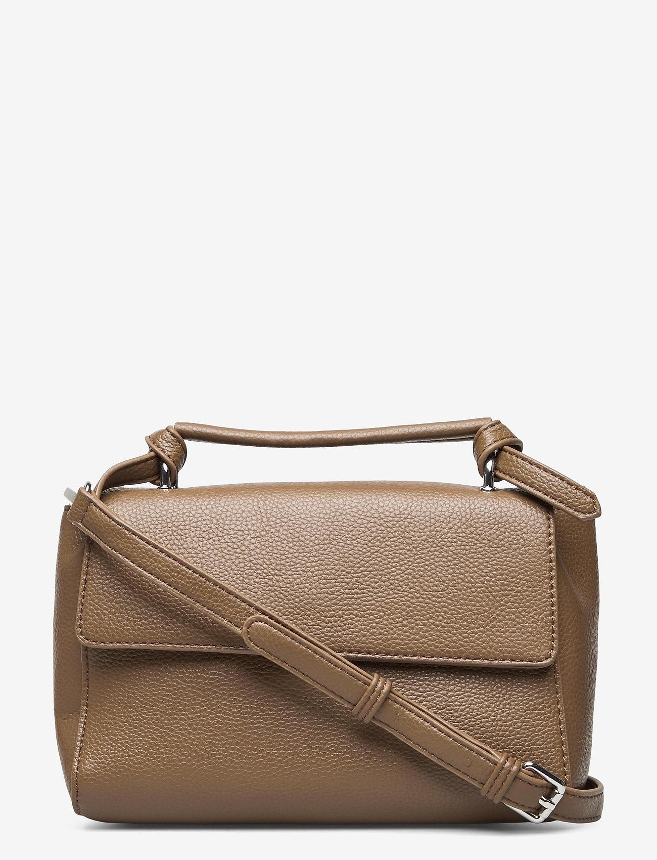 HVISK - GANNET STRUCTURED - handväskor - mushroom - 0