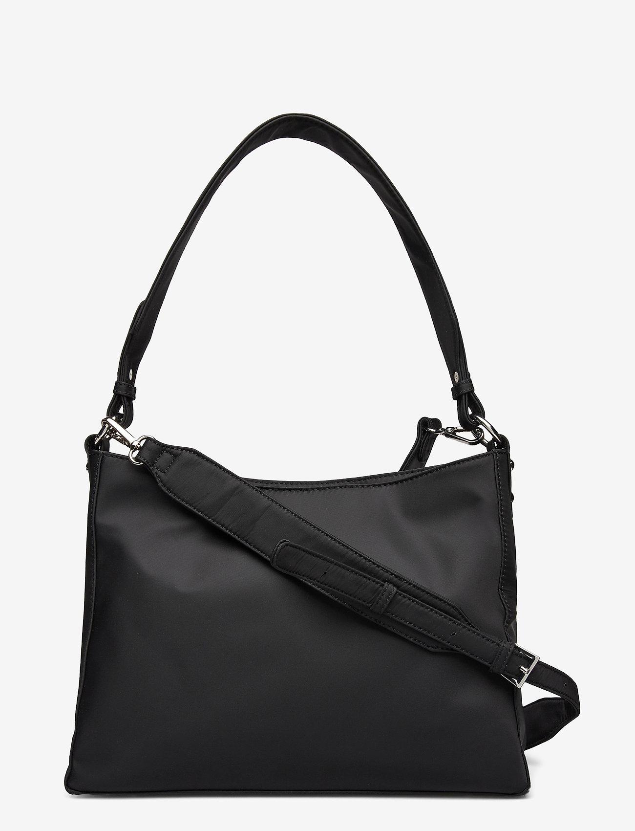 HVISK - AMBLE NYLON RECYCLED - shoulder bags - black - 0