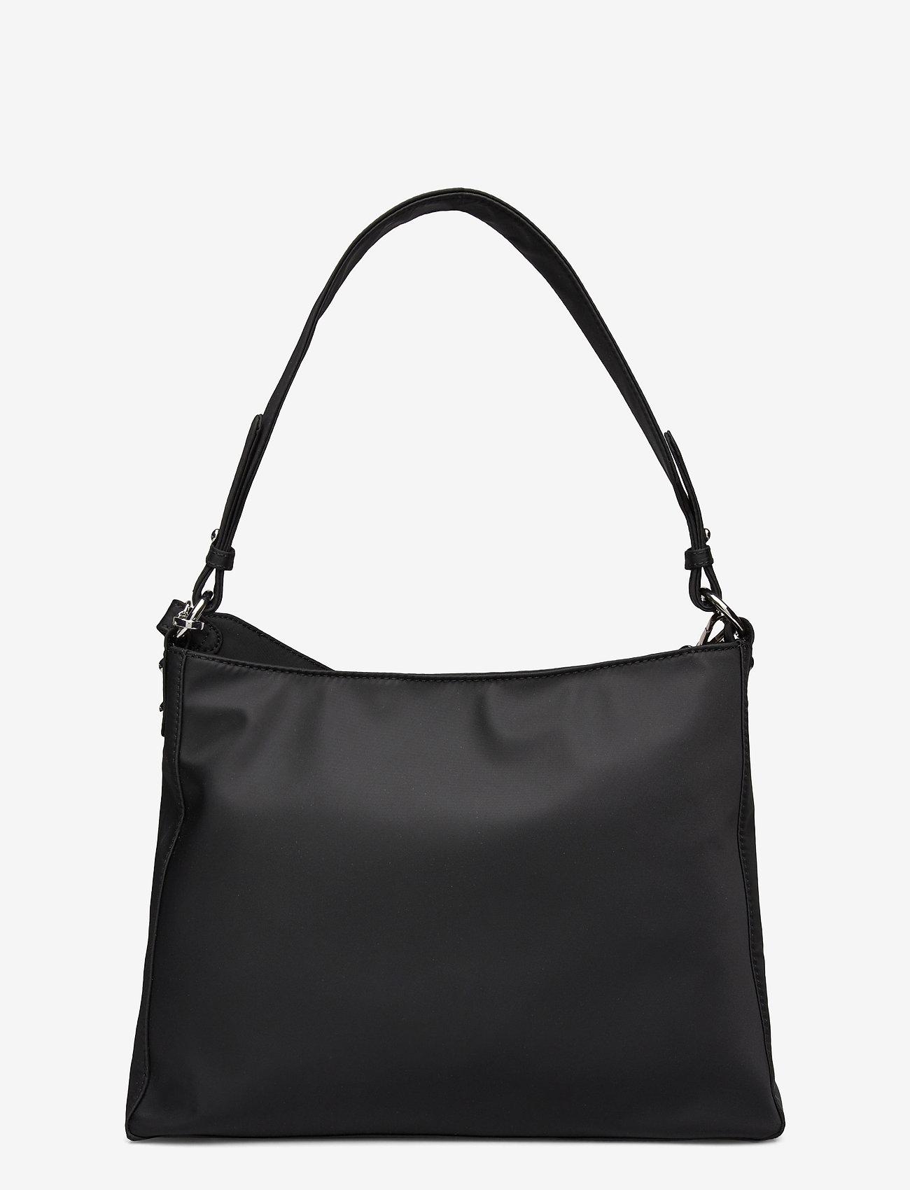 HVISK - AMBLE NYLON RECYCLED - shoulder bags - black - 1