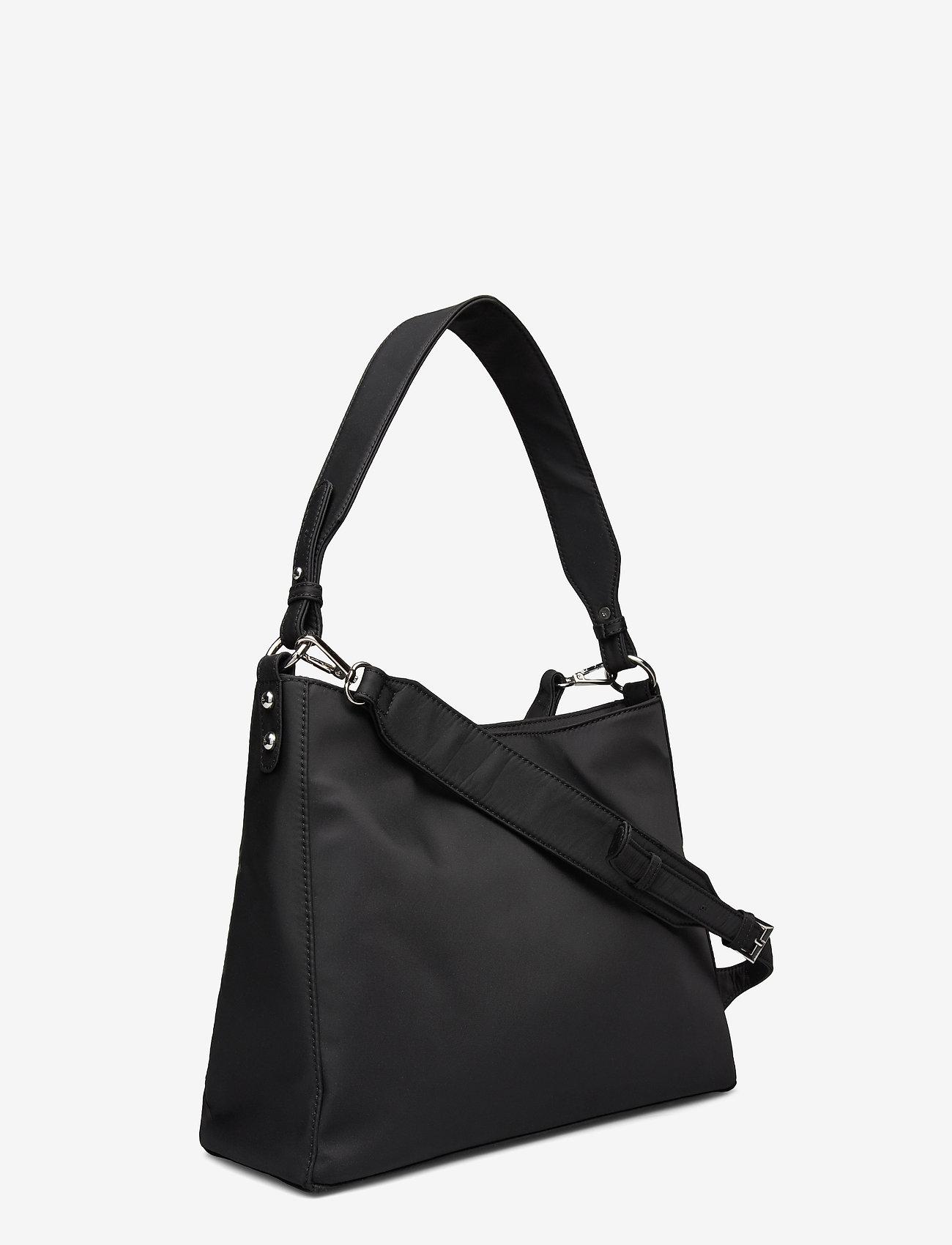 HVISK - AMBLE NYLON RECYCLED - shoulder bags - black - 2