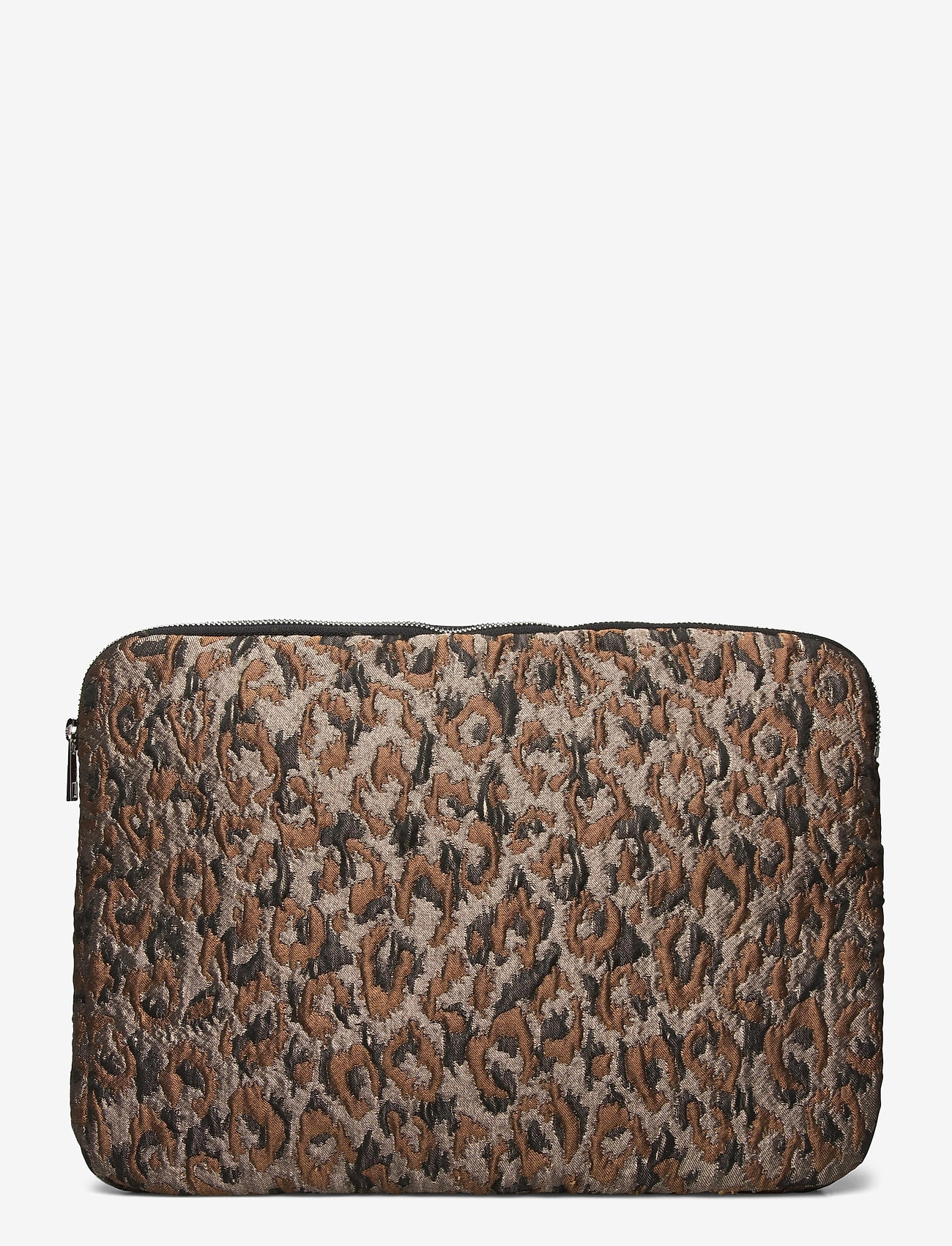 "HVISK - COMPUTER SLEEVE 15"" LEOPARD - laptoptassen - silver brown multi - 0"