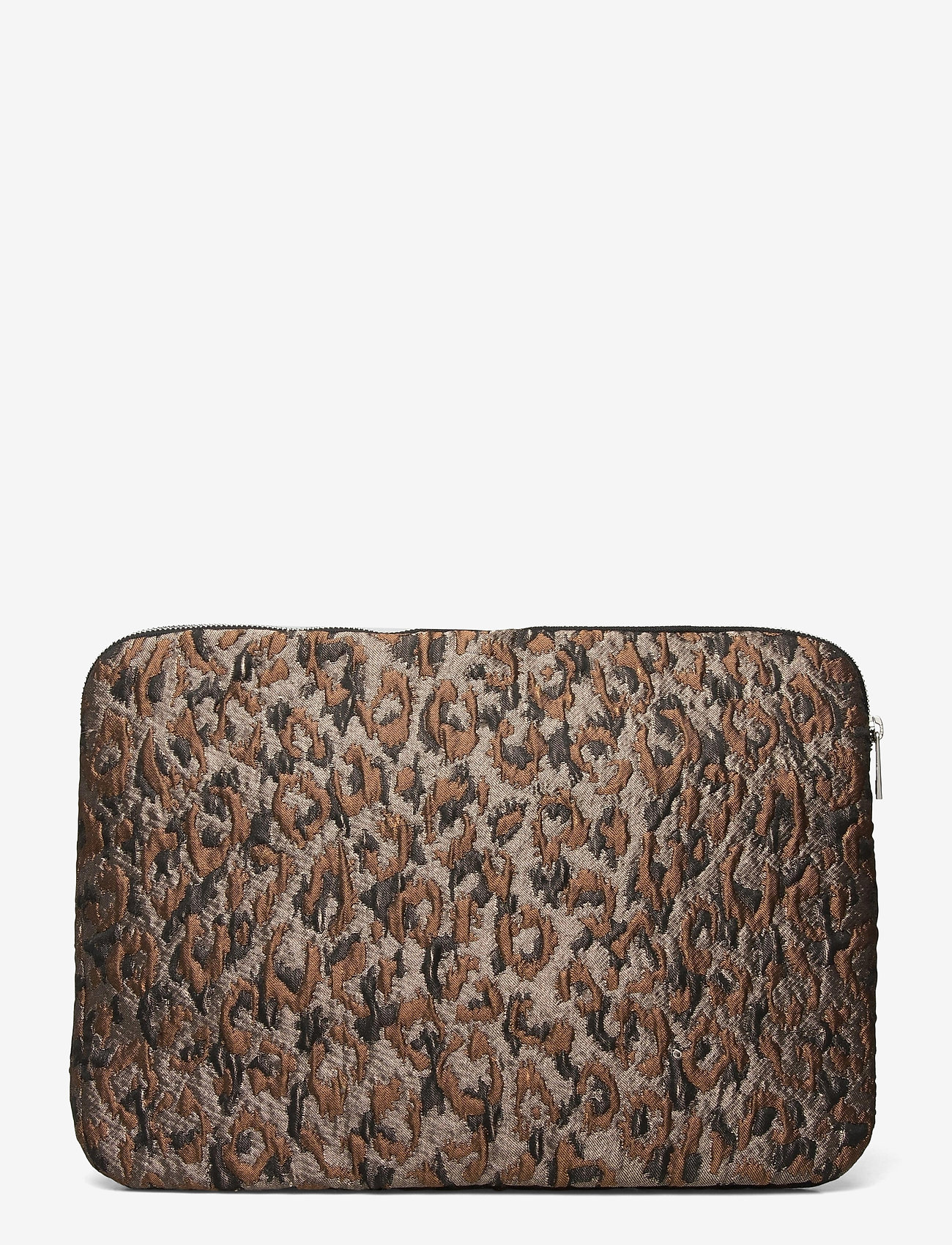 "HVISK - COMPUTER SLEEVE 15"" LEOPARD - laptoptassen - silver brown multi - 1"
