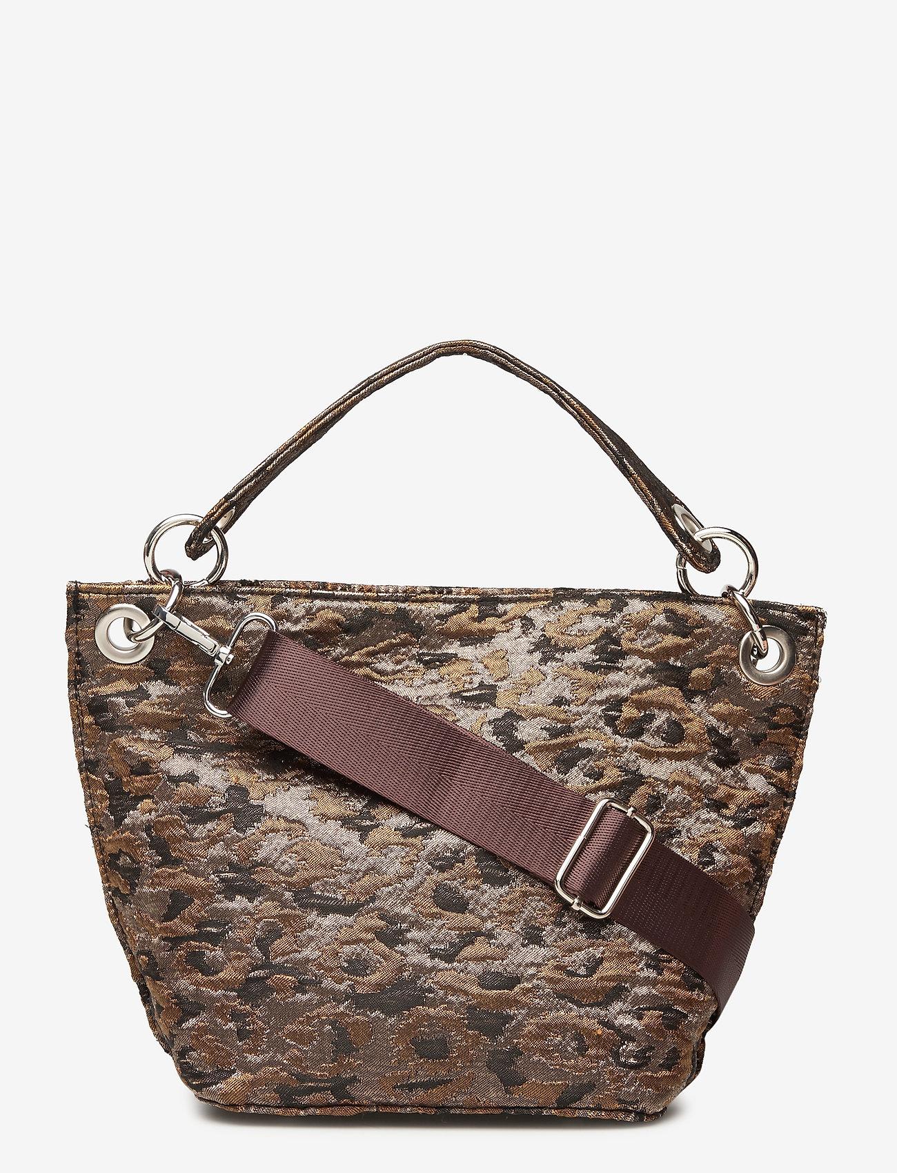 HVISK - NEAT LEOPARD - handväskor - silver brown multi - 0