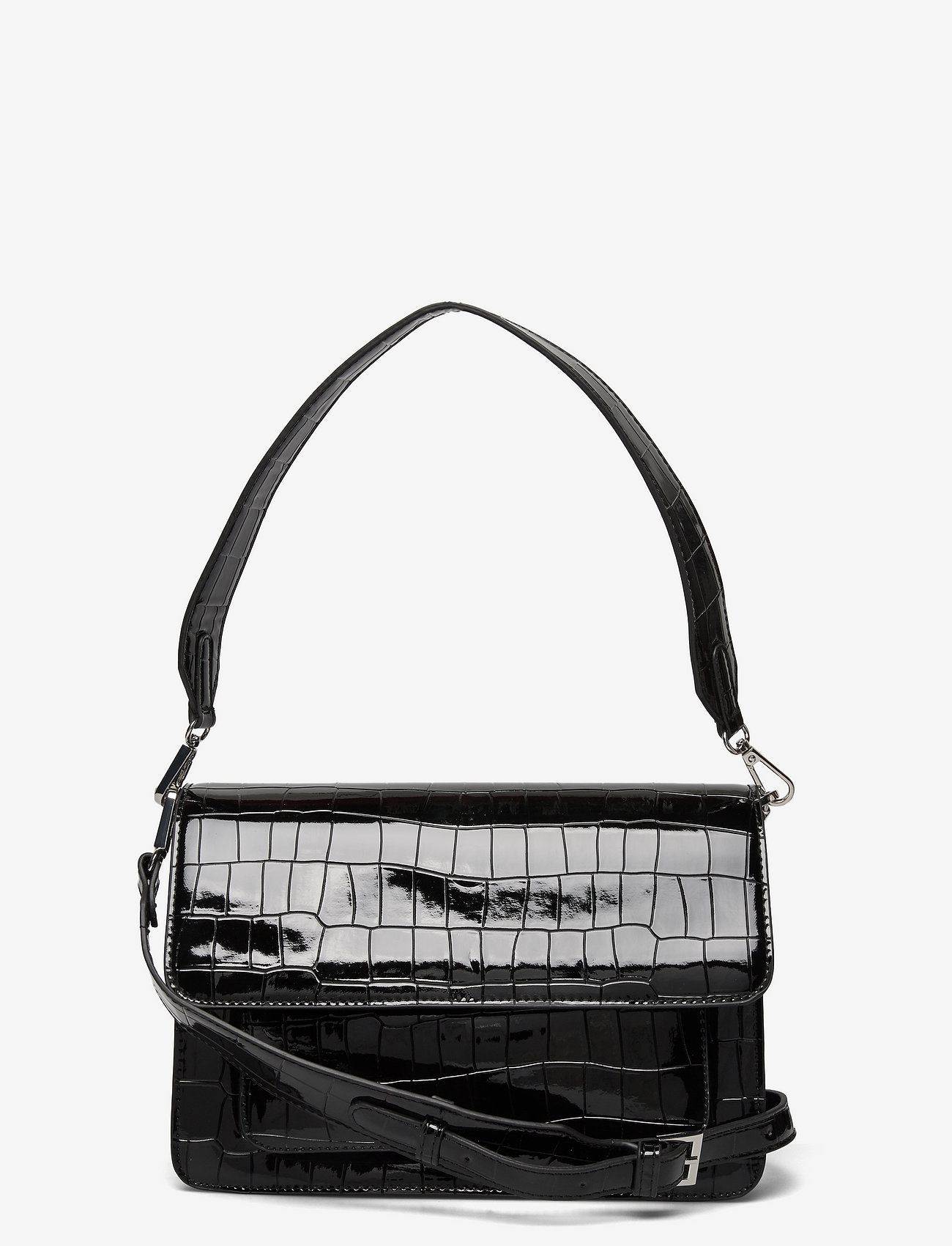 HVISK - BASEL CROCO - sacs à bandoulière - black - 0