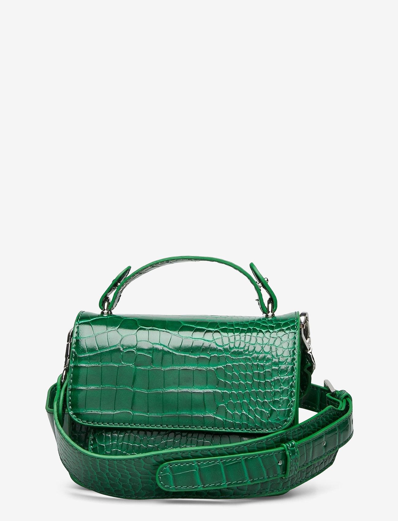 HVISK - RENEI CROCO - handväskor - pine green - 0