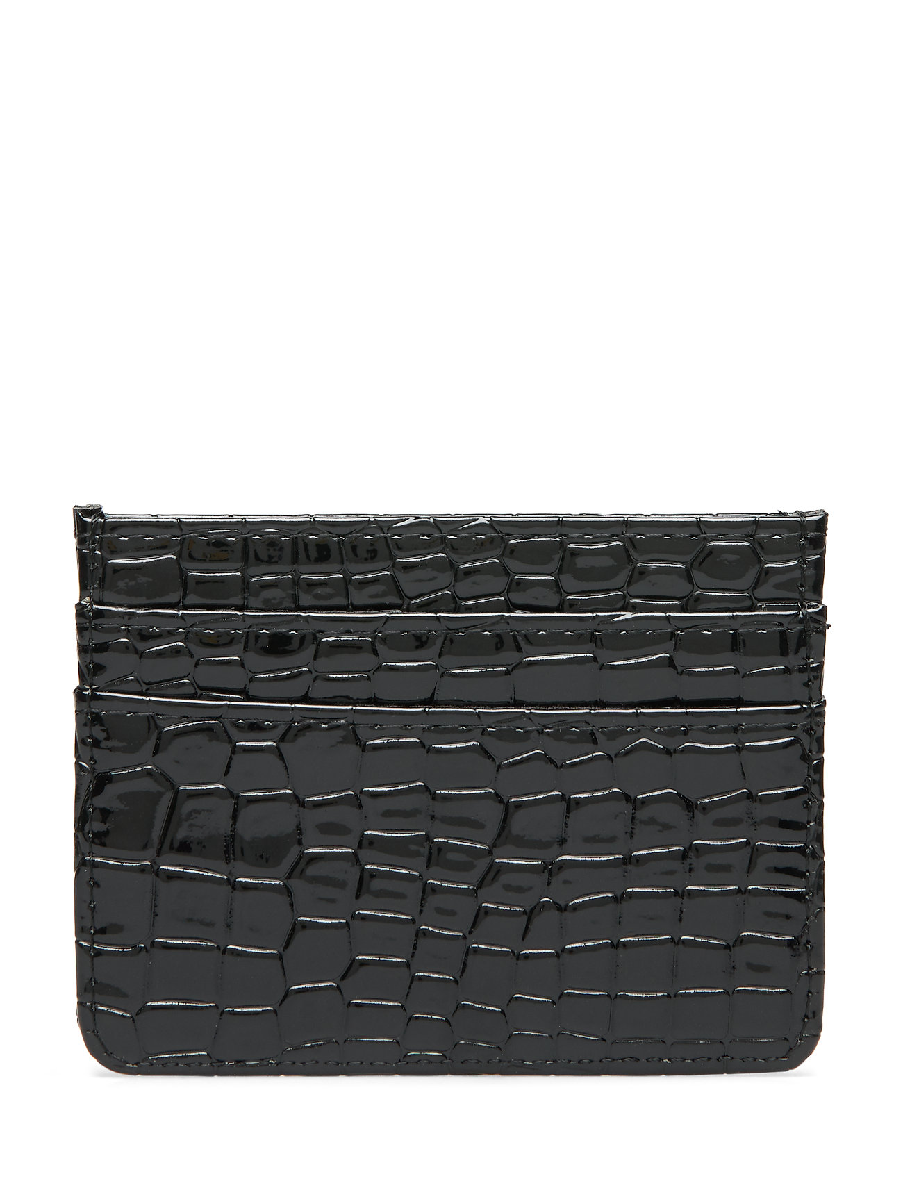 Hvisk CARD HOLDER CROCO - BLACK