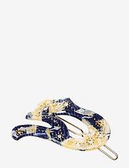 Hvisk - PETAL - hair accessories - white / blue - 0