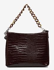 HVISK - AMBLE CROCO - torby na ramię - dark burgundy - 2
