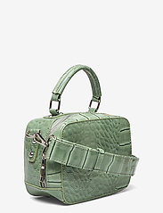 HVISK - BLAZE CROCO - handväskor - dusty green - 2
