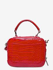 HVISK - BLAZE CROCO - handväskor - red - 1