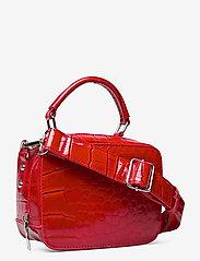 HVISK - BLAZE CROCO - handväskor - red - 2