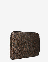 "HVISK - COMPUTER SLEEVE 15"" LEOPARD - laptoptassen - silver brown multi - 2"