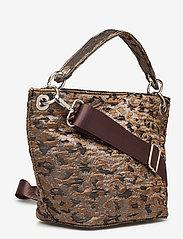 HVISK - NEAT LEOPARD - handväskor - silver brown multi - 2