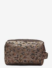 HVISK - AVER LEOPARD - toilettassen - silver brown multi - 1
