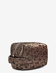 HVISK - AVER LEOPARD - toilettassen - silver brown multi - 2