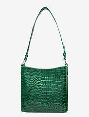 HVISK - AMBLE CROCO SMALL - handväskor - pine green - 1
