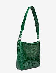 HVISK - AMBLE CROCO SMALL - handväskor - pine green - 2