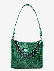 HVISK - AMBLE CROCO SMALL - handväskor - pine green - 3