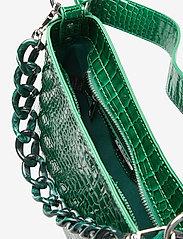 HVISK - AMBLE CROCO SMALL - handväskor - pine green - 4