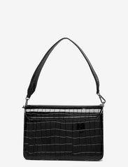 HVISK - BASEL CROCO - sacs à bandoulière - black - 1