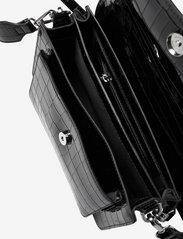 HVISK - BASEL CROCO - sacs à bandoulière - black - 3