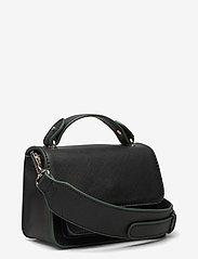 HVISK - RENEI TONAL TEXTURE - handväskor - black - 2