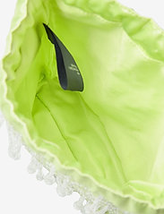 HVISK - POUCH ROMANCE BEADED - bucket-laukut - lime green - 3