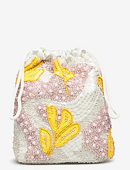 HVISK - POUCH GALLERY BEADED - clutches - white multi - 0