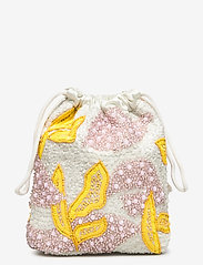 HVISK - POUCH GALLERY BEADED - clutches - white multi - 1