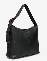 HVISK - BRINY STRUCTURED - handväskor - black - 2