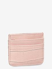 HVISK - CARD HOLDER CROCO - porte-cartes - soft pink - 2