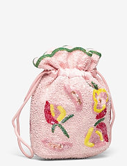 HVISK - POUCH DALE BEADED - bucket bags - pink - 2