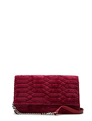 Allure Velvet Crossbody - BORDEAUX
