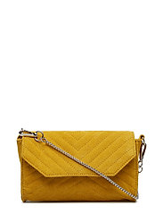 THUNDER SUEDE CROSSBODY - CURRY