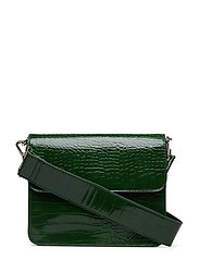 CAYMAN SHINY STRAP BAG - GREEN