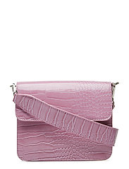 CAYMAN SHINY STRAP BAG - PASTEL PURPLE