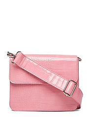 CAYMAN SHINY STRAP BAG - PINK